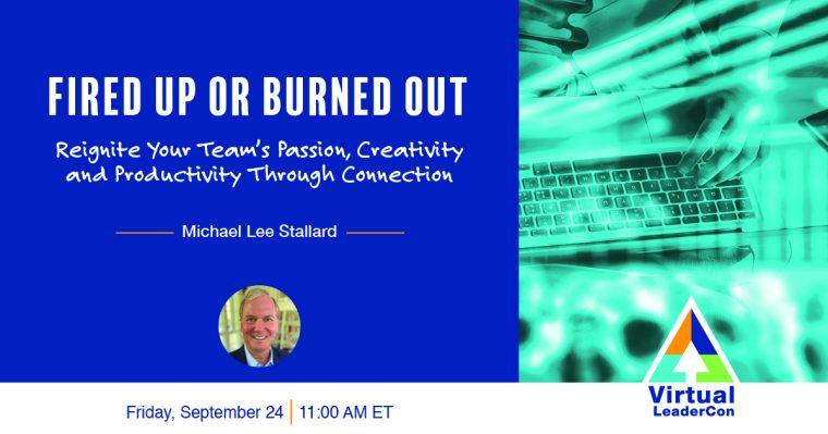2021 Virtual LeaderCon promo for Michael Lee Stallard