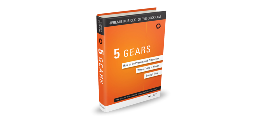 5 Gears Book Cover