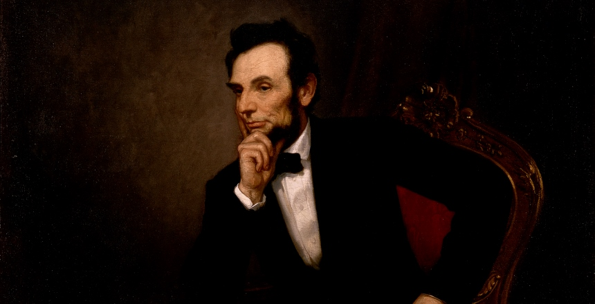 White House portrait of Abraham Lincoln