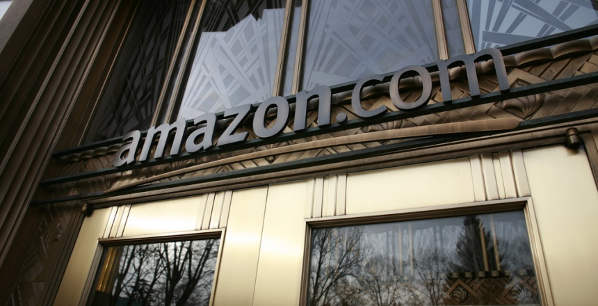 Amazon Building Entrance