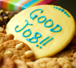 Cookie That Says Good Job