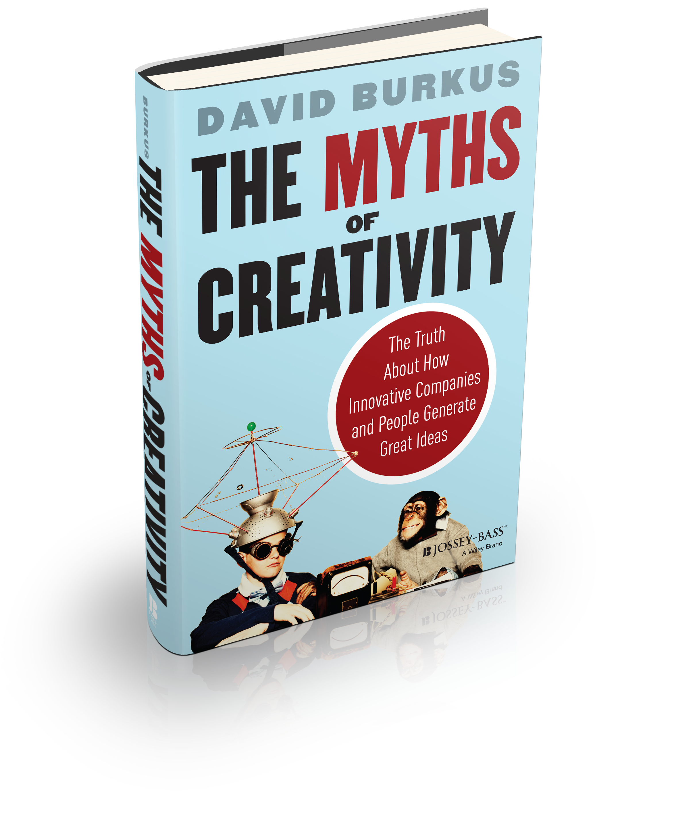 Myths of Creativity Cover