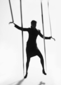 Business Woman Controlled by Strings