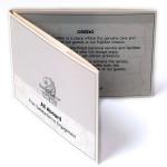 Ritz Carlton Values on Card