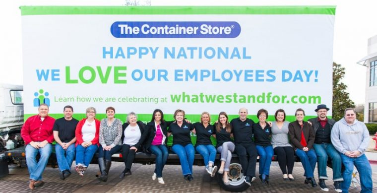 The Container Store's We Love Our Employees Day in 2014