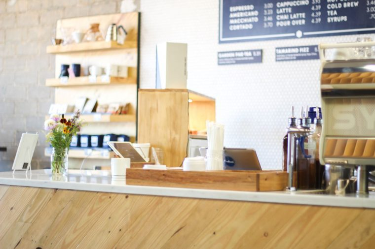 Craftwork Coffee Co. Location on Camp Bowie in Fort Worth, Texas